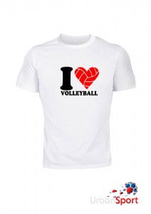 Футболка I love Volleyball