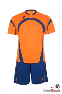Форма игровая KELME MEGA SET orange-blue